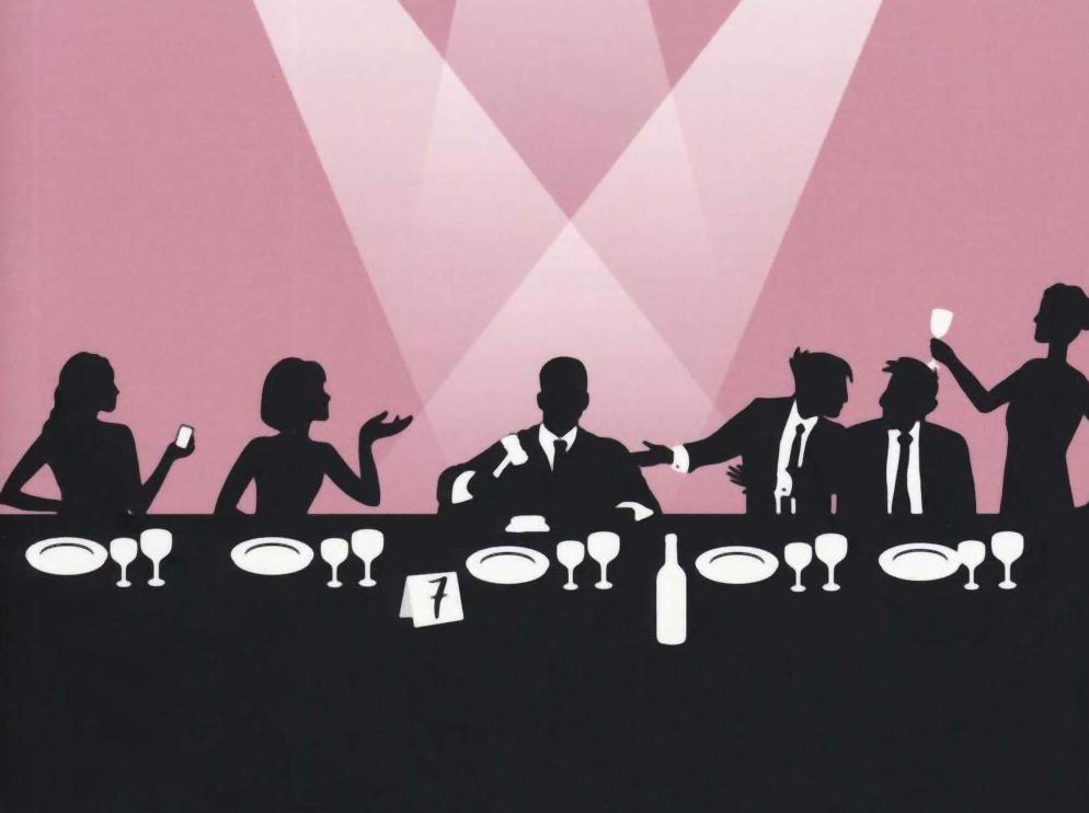 Un dettaglio della copertina di Tavolo Numero Sette