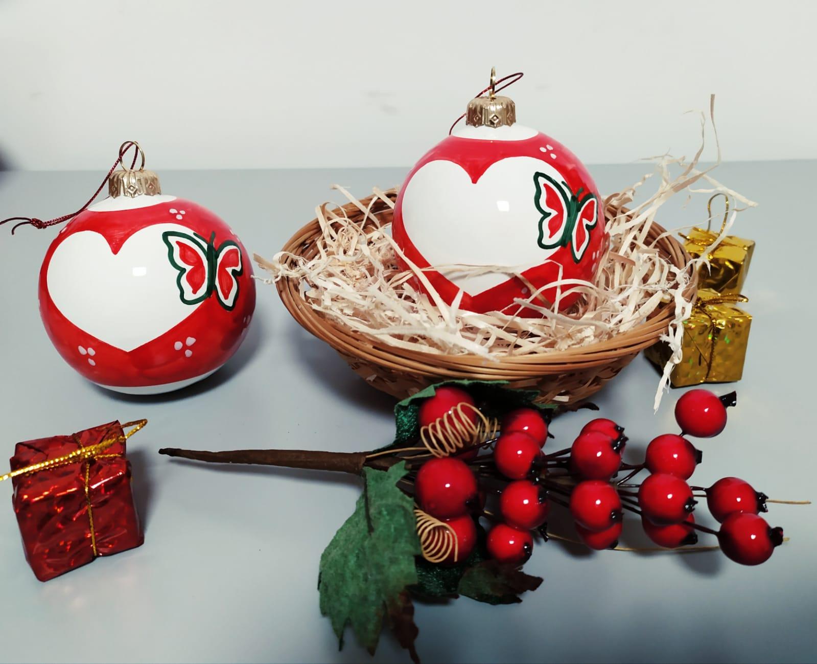 Le palle di Natale della UILDM LAZIO onlus