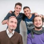 Manuèl, Angelo, Davide e Andrea