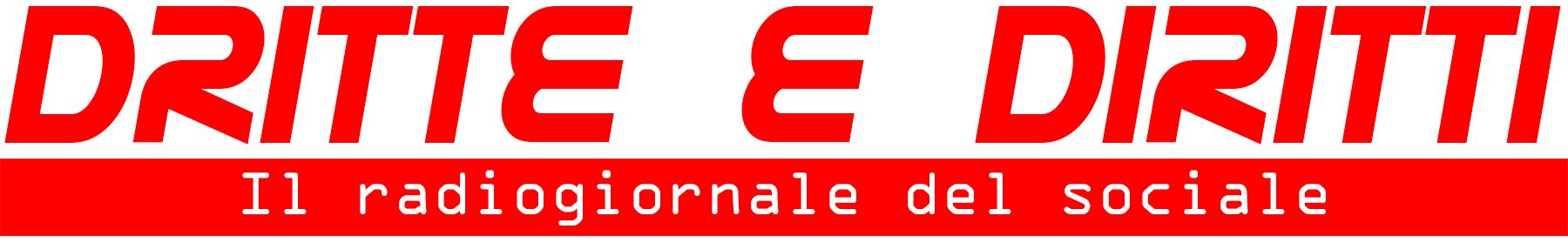 """Il logo della trasmissione """"Dritte e Diritti"""""""