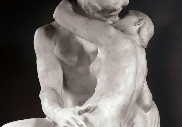 Il Bacio, di Auguste Rodin