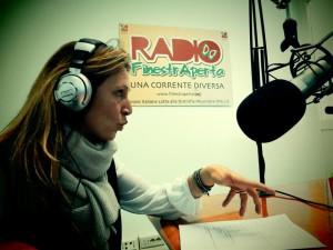 Claudia Delli Ficorelli dei Coreacore Music a Radio FinestrAperta