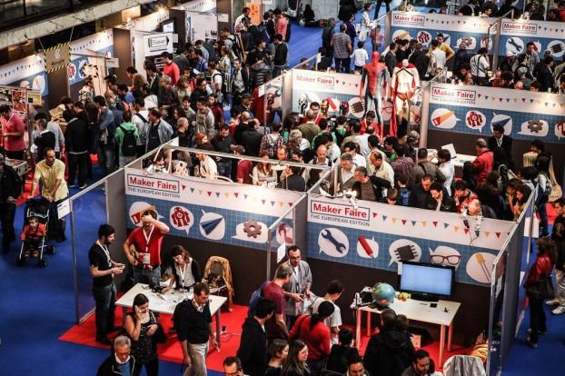 La fiera Maker Faire tenutasi a Roma