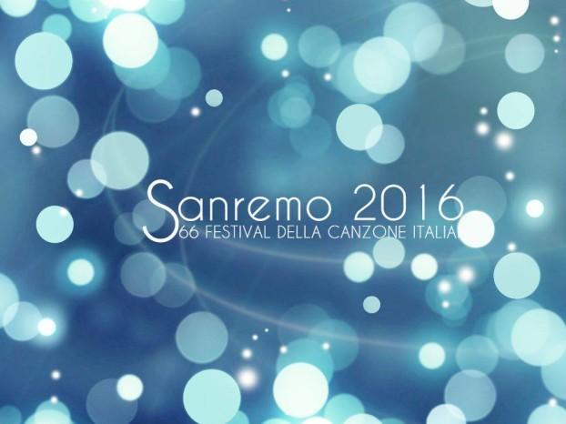 Il logo di Sanremo 2016