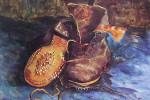 """""""Un paio di scarpe"""" (Vincent va Gogh, 1886)"""