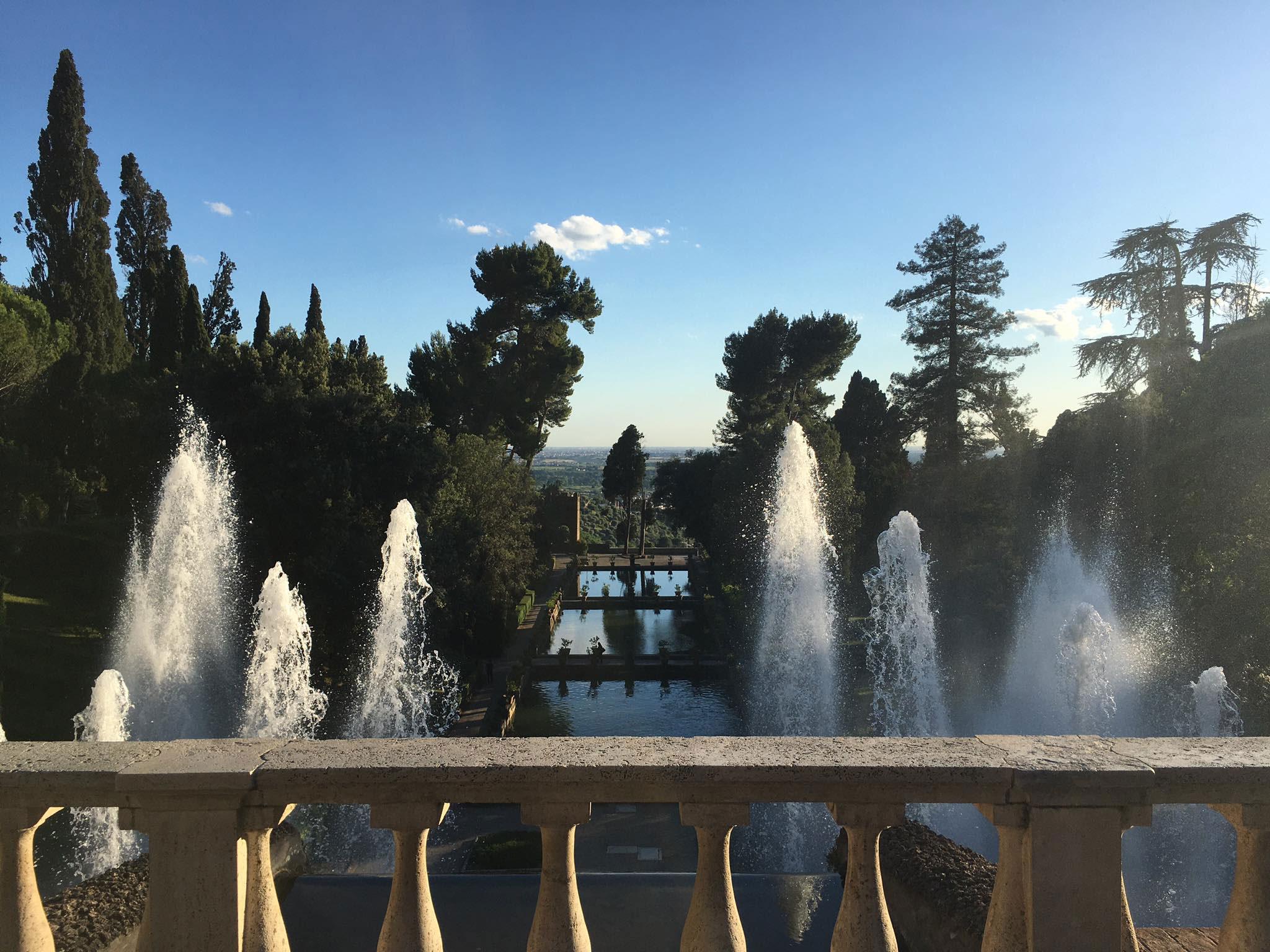 Uno degli splendidi scorci visibili a Tivoli