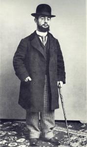 Henri de Toulouse-Lautrec in una foto del 1892