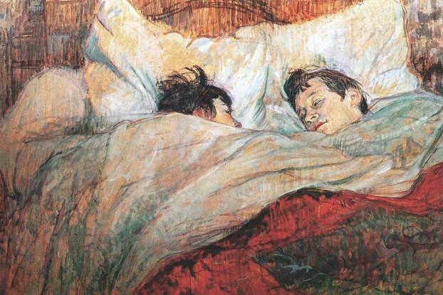 Il Letto (Henri de Toulouse-Lautrec, 1890)