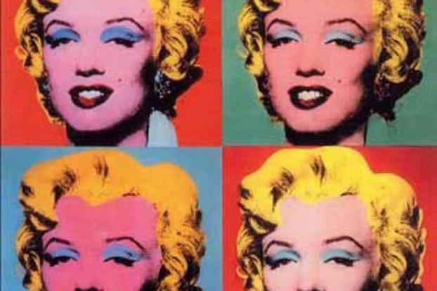 Andy Warhol, The shot Marilyns, 1964