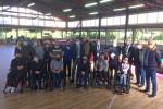 Incontro fra il team romano Pianeta Boccia e alcuni dirigenti nazionali della Fib