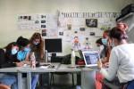 Le volontarie del Corpo Europeo di Solidarietà al lavoro in UILDM