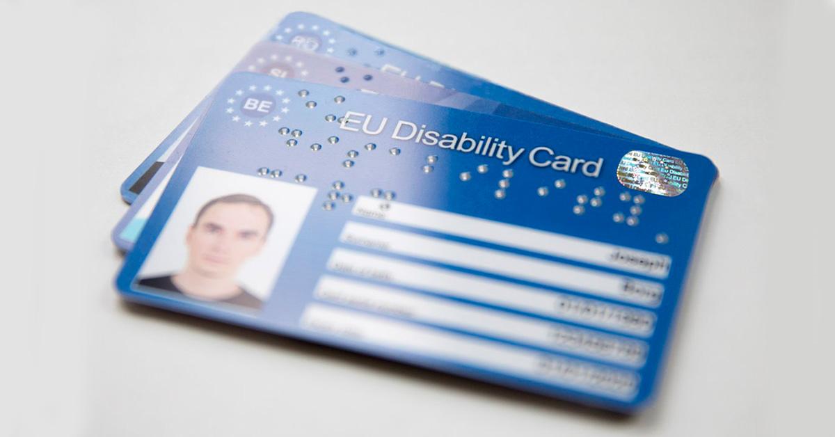 EU Disability Card (fonte: CommissioneEuropea)