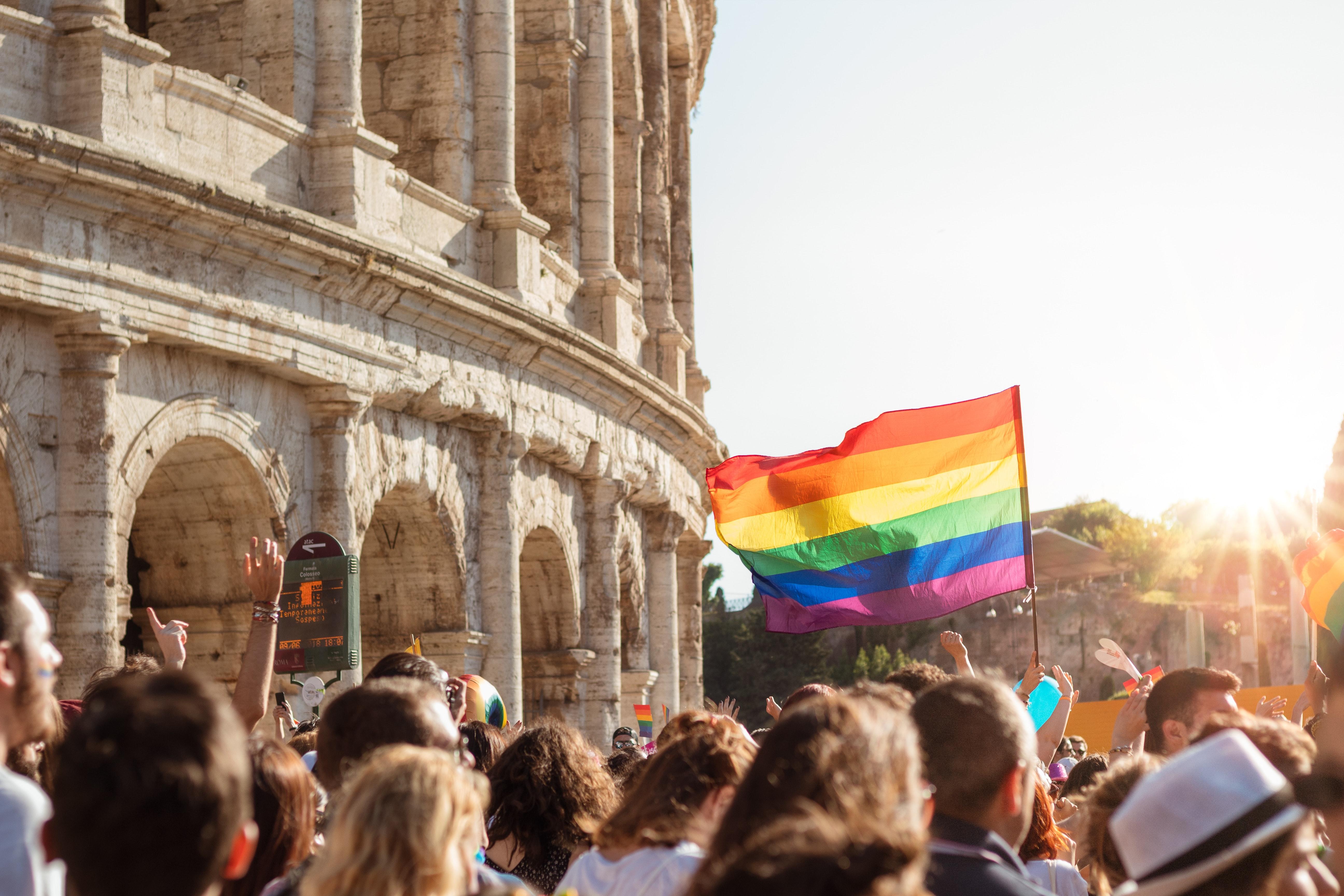 Il pride a Roma