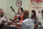 Un momento del G-Day nello studio di Radio FinestrAperta